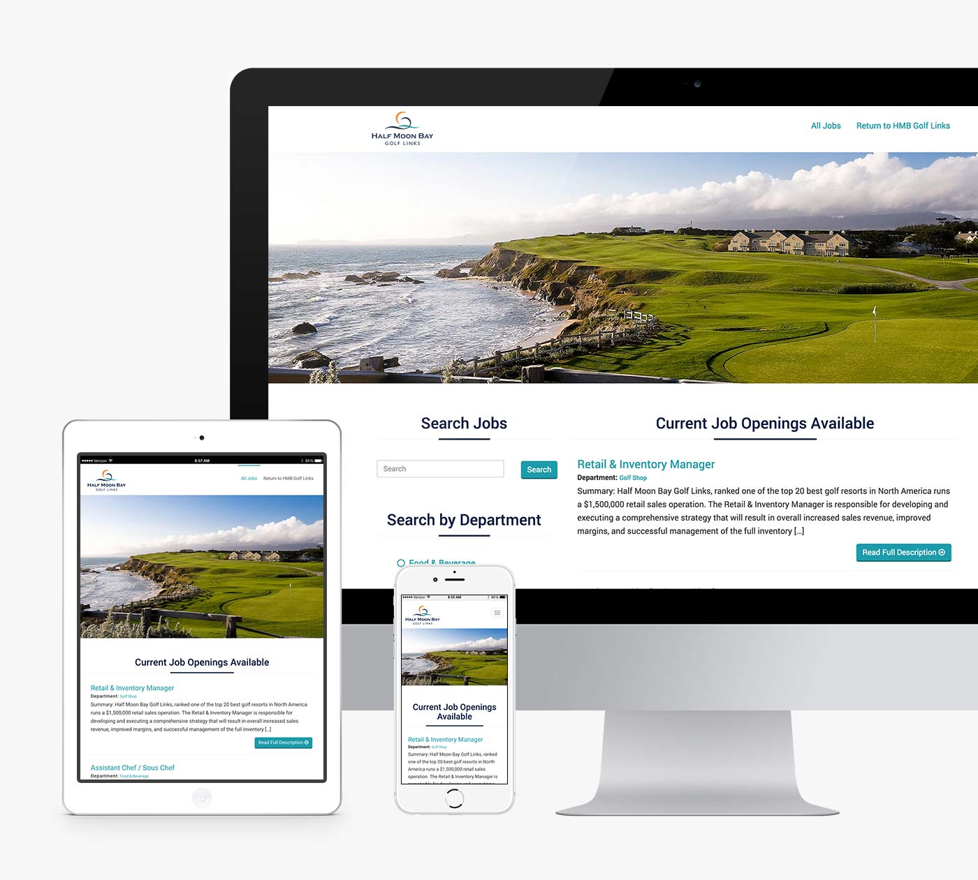 HMB Golf Links Careers Website